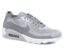 Air Max 90 Ultra 2.0 Flyknit Sneaker in grau