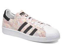 Superstar 80S Pk Sneaker in weiß