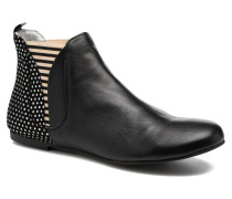 Patch silver Stiefeletten & Boots in silber
