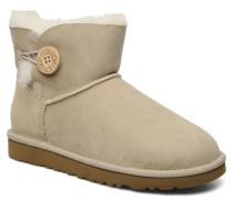 Mini bailey button Stiefeletten & Boots in beige