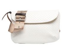 Fancy Canvas line Belt bag Handtaschen für Taschen in weiß