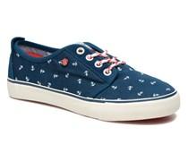 Traveler Anchor Sneaker in blau