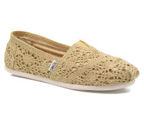 Seasonal Classics F Espadrilles in goldinbronze