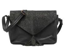 Silana Leather Crossbody Handtaschen für Taschen in schwarz