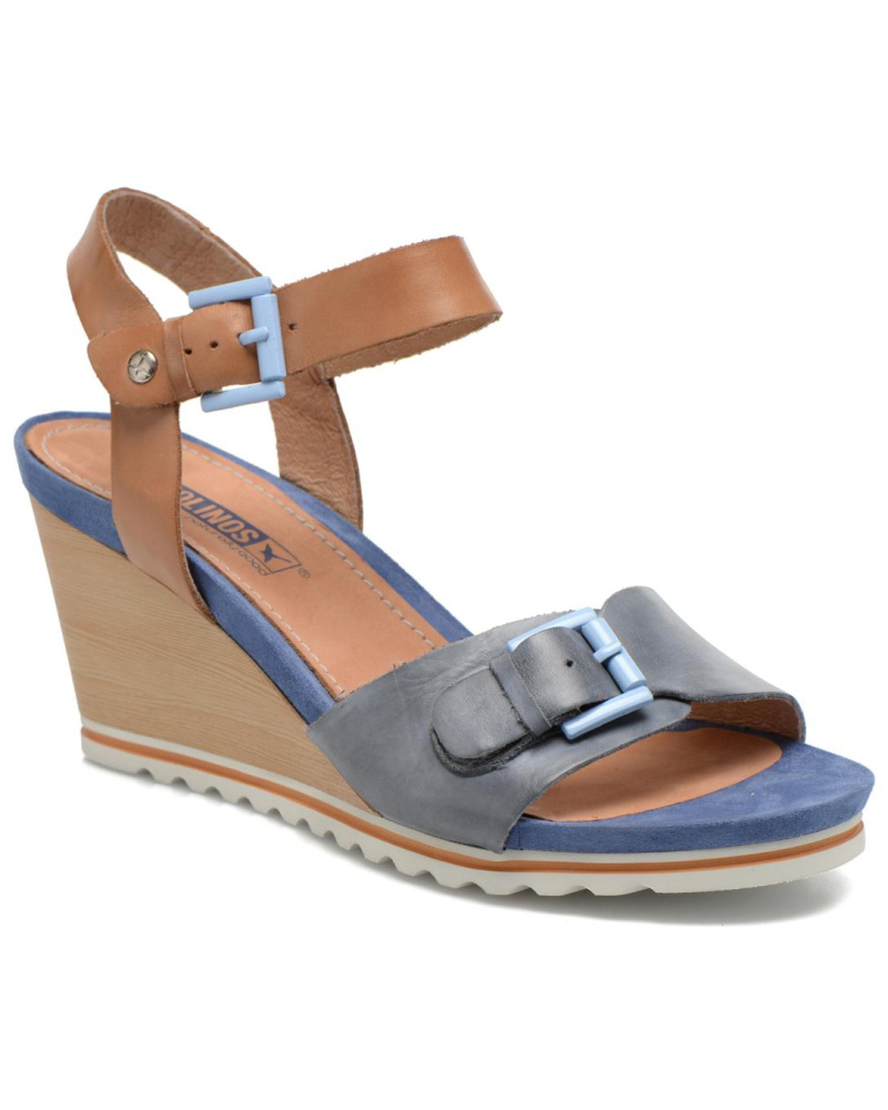 pikolinos damen pikolinos bali w7f 0593 sandalen f r damen blau reduziert. Black Bedroom Furniture Sets. Home Design Ideas