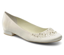 Carmichael Ballerinas in weiß