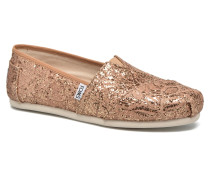 Seasonal classics W Slipper in goldinbronze