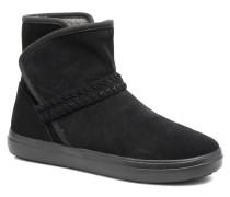 LodgePoint Suede Bootie W Stiefeletten & Boots in schwarz
