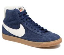Wmns Blazer Mid Suede Vintage Sneaker in blau