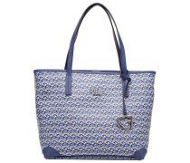 G Cube Medium GTote Handtaschen für Taschen in blau