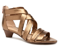 Mena Silk Sandalen in goldinbronze