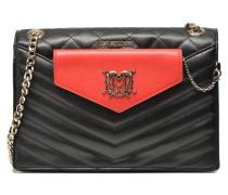 Quilted crossbody Clutch BC Handtaschen für Taschen in schwarz