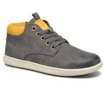 Groveton Leather Chukka Sneaker in grau