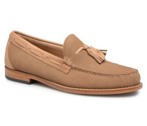 WEEJUN Larkin Reverso Slipper in beige