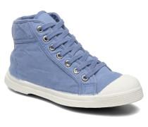 Tennis Mid E Sneaker in blau