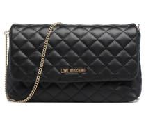 Pochette Chaine Quilted Handtaschen für Taschen in schwarz