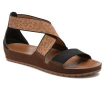 Anna Ankle Strap Sandal Sandalen in braun