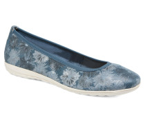 Andela Ballerinas in blau