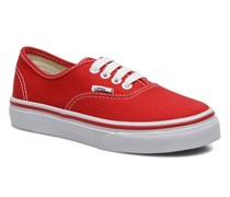 Authentic E Sneaker in rot