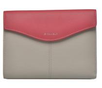 VALENTINE Portefeuille poche zippée Portemonnaies & Clutches für Taschen in grau