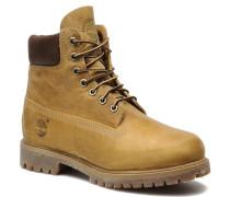 6 inch premium boot Stiefeletten & Boots in beige