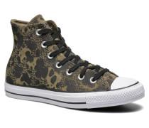 Chuck Taylor All Star Animal Hi W Sneaker in grün