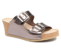 Lenia Clogs & Pantoletten in goldinbronze