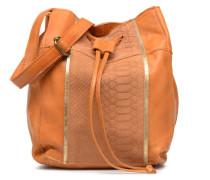 Imi Leather Tighten Bag Handtasche in braun