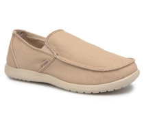 Santa Cruz Clean Cut Loafer Slipper in beige