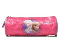 Trousse Reine des neiges Schulzubehör für Taschen in rosa