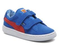 Suede Superman V Kids Sneaker in blau
