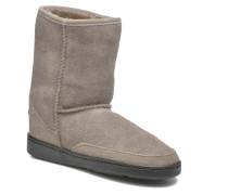 Short Sheepskin Pug Boot W Stiefeletten & Boots in grau