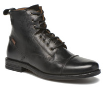 Emerson Lace Up Stiefeletten & Boots in schwarz