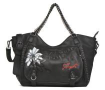 ROTTERDAM BLACK DAISY Porté main Handtaschen für Taschen in schwarz