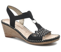 Pipo D6756 Sandalen in schwarz