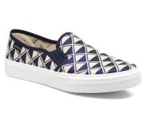 Slip On Geometrico Sneaker in schwarz