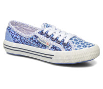 Baker flowers Sneaker in blau