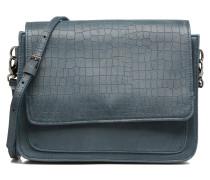Cyriane croco Handtaschen für Taschen in blau
