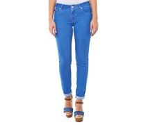 Jocelyn Slim Jeans Blau