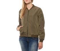 Linea Nylon Short Jacke Grün