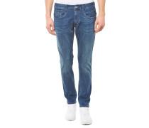 Anbass Slim Fit Jeans Blau