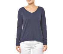 Basic Drapey Longsleeve navy blue