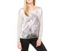 Fee Round T-Shirt Grau