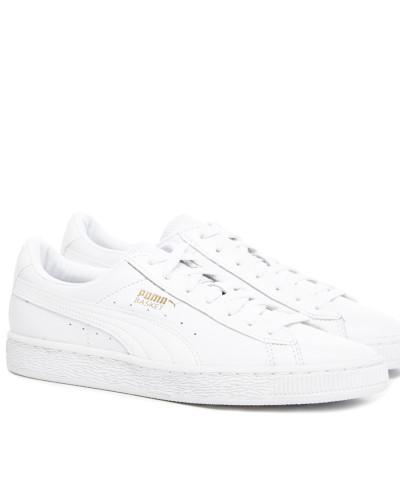 Basket Classic Animal Croc Damen Sneaker Weiß
