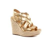 Jocelyn Wedge Sandaletten Damen Gold