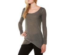 Evelin Round T-Shirt Dunkelgrau
