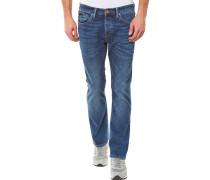 Dylan Straight Jeans Dunkelblau
