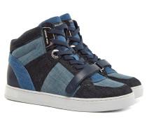 Ollie High Top Sneaker Blau
