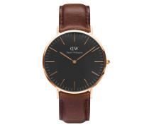 Classic Black Bristol Uhr