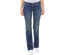 Cristia Bootcut Jeans Blau